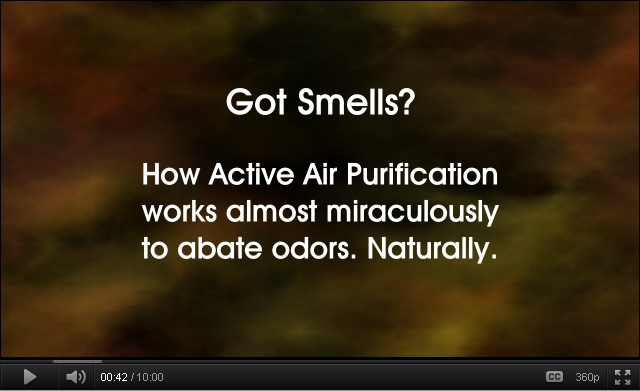 Got Smells?  Click on image to watch video of this technology in action.