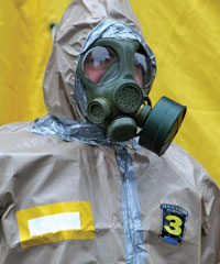 Airborne biological weapons