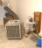 "Remediation ""air scrubbers"" (a/k/a ""vacuums"")"